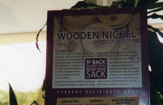 safe haven wooden nickel program