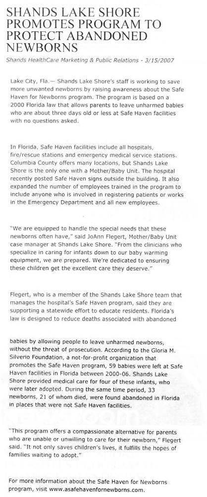 shandslakeshorepromotesprogram