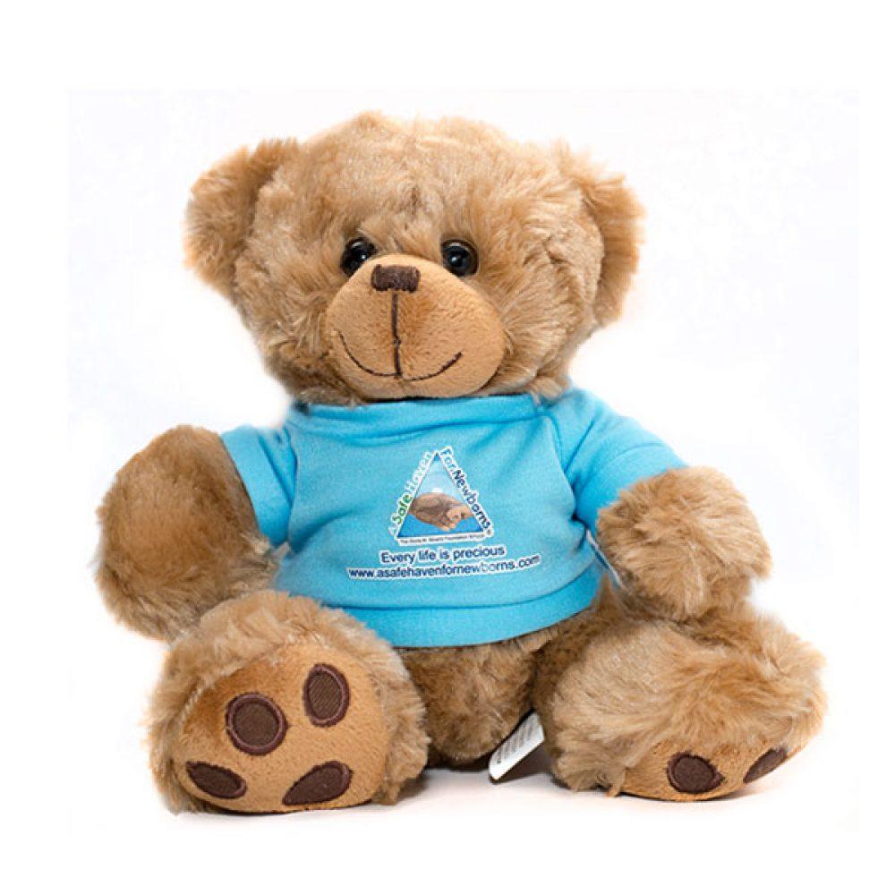 a safe haven for newborns teddy bear merchandise