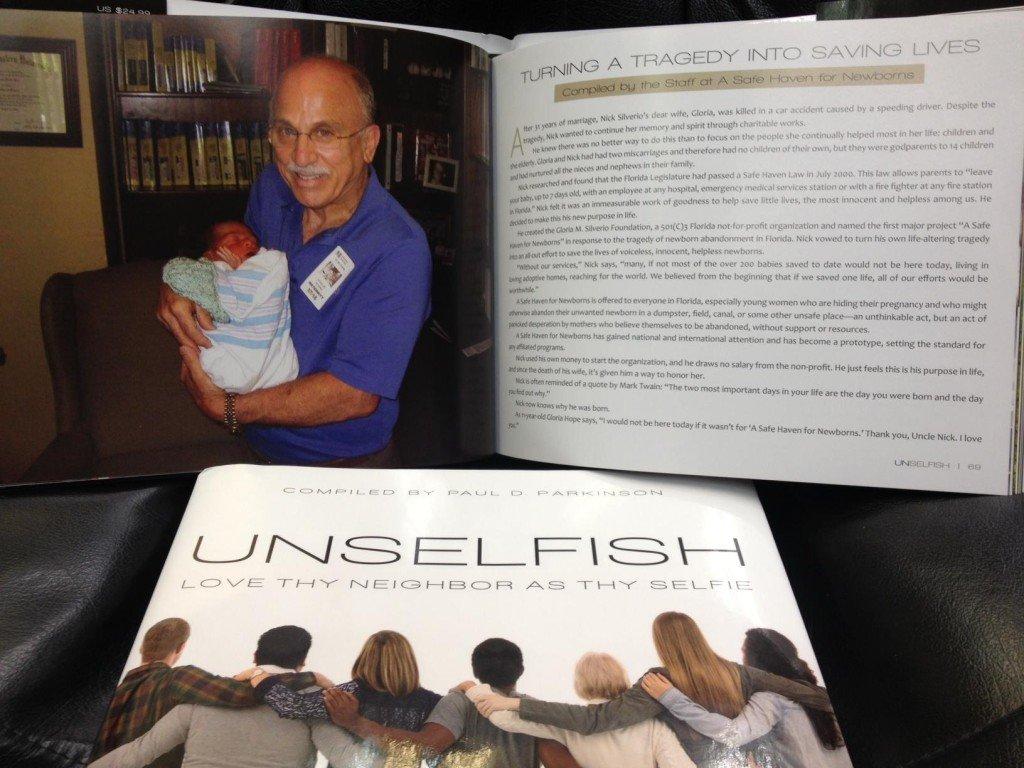 Nick Unselfish Book