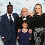 Safe Haven gala with Nick, Kristopher, Lydia, Gloria Hope