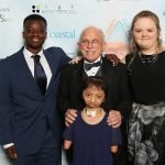 Safe Haven gala Nick with Kristopher, Milagros & Gloria Hope